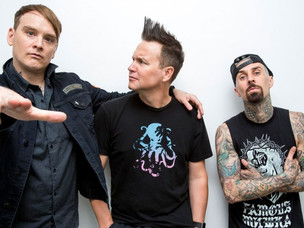 BLINK 182 NOW ELIGIBLE FOR ROCK AND ROLL HALL OF FAME!