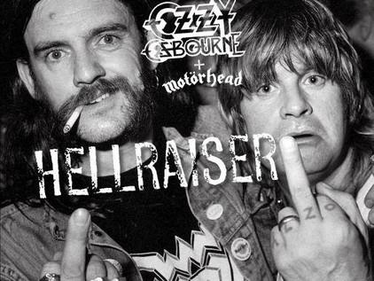 "OZZY OSBOURNE and LEMMY KILMISTER Duet On ""Hellraiser""!"