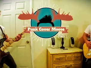 Meet PUNK COVER MOOSE - One Man Punk Rock YouTube Band INTERVIEW