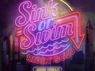 "SINK OR SWIM - ""Ridin Solo"" Jason Derulo Cover SINGLE REVIEW"