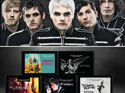 My Chemical Romance collab with LOOTCRATE!
