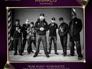 "BODY COUNT EARNS ""BEST METAL PERFORMANCE"" GRAMMY NOMINATION"