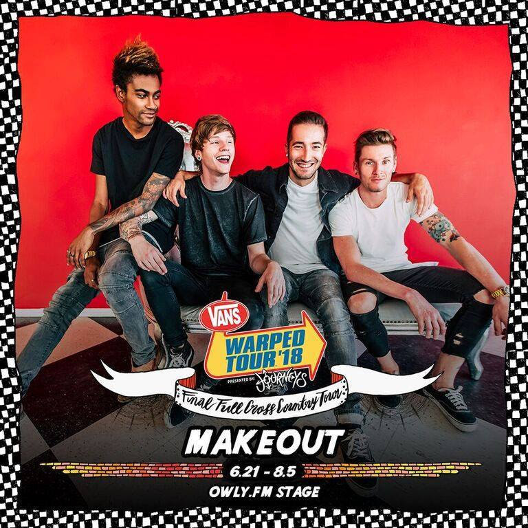 makeout warped tour