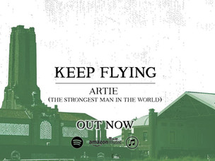 """KEEP FLYING """"Artie"""" SINGLE REVIEW"""