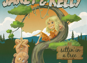 JARET AND KELLY - Sittin' In A Tree ALBUM REVIEW