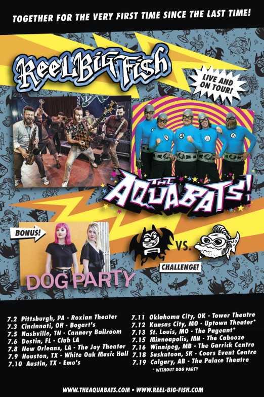 AQUABATS REEL BIG FISH