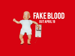 """HEART ATTACK MAN - """"Fake Blood"""" SINGLE REVIEW"""
