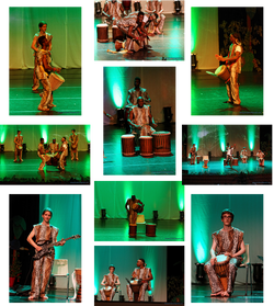 percussion africaine gala 2015