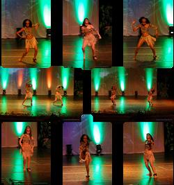 afro samba Mariposita gala 2015