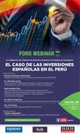 El caso de las inversiones españolas en el Perú
