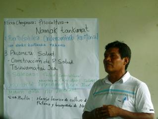 Comunidades Wampis y Awajun del  distrito de Río Santiago firman acuerdo para incluir proyectos prio