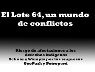 El Lote 64, un mundo de conflictos
