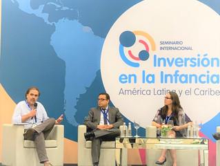 Representantes de la Sociedad Civil participan en Encuentro Internacional sobre Inversión en la Infa