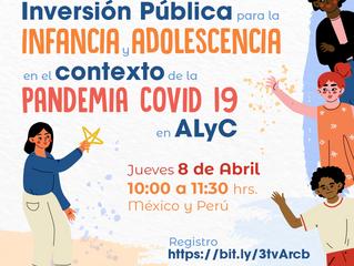 Inversión Pública en la infancia y adolescencia en el contexto de la pandemia COVID 19 en LAC