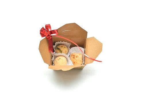 Mini box 1: Pães de queijo