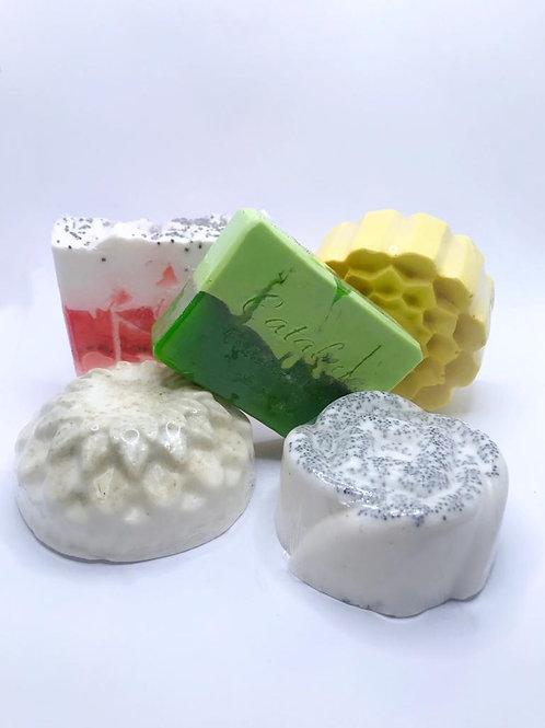 Jabón de glicerina vegetal mediano