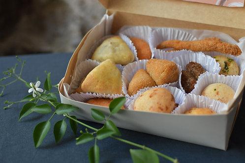 Mini box 3: Coxinhas de pollo