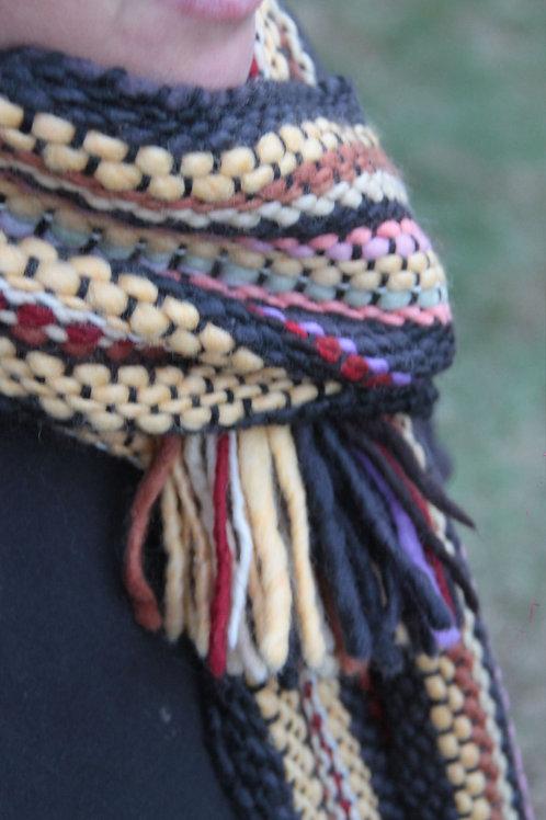 Bufanda de lana merino