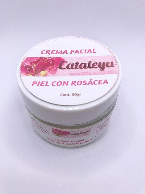 Crema facial para piel con Rosácea
