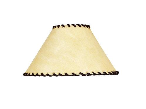 Pantalla artesanal para lámpara