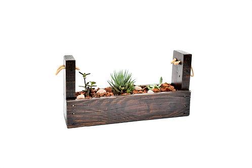 Terrario en madera