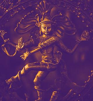 インドの女神の彫像