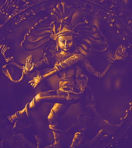 Statua della dea indiana