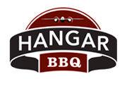 Hangar BBQ restaurant logo