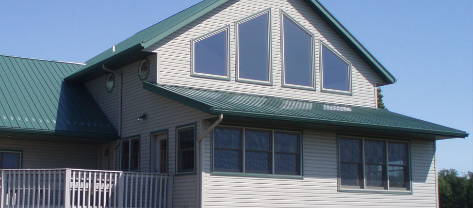 Quality metal roofing residential