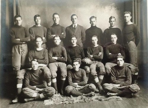 Athens High School Football 1914