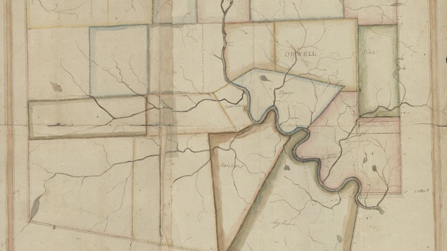 Bradford County Townships c.1823