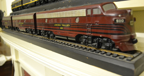 Lehigh Valley Railroad model