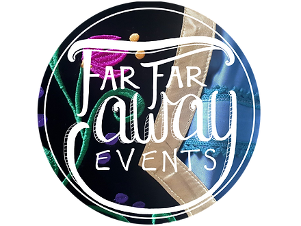 Far Far Away Events logo