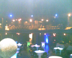 Moody theatre before guests