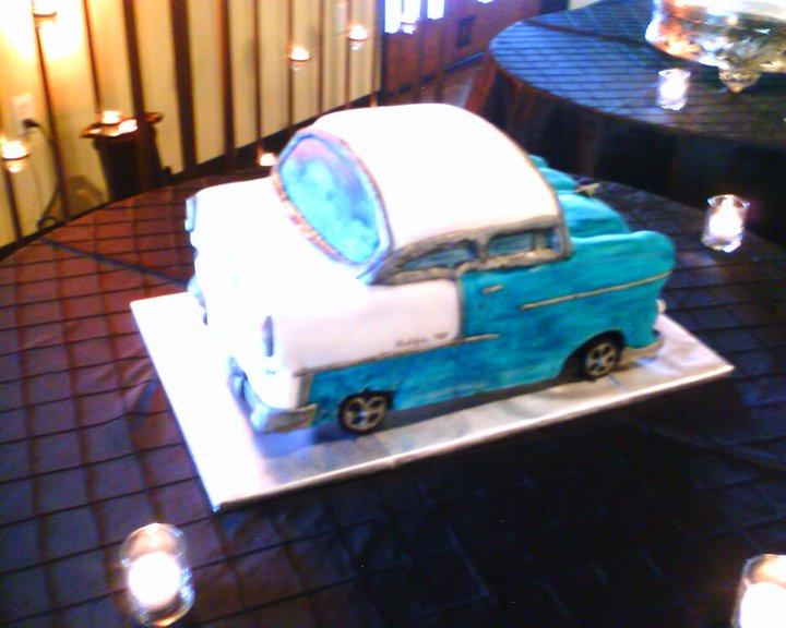 cake like getaway car, seems to be a the