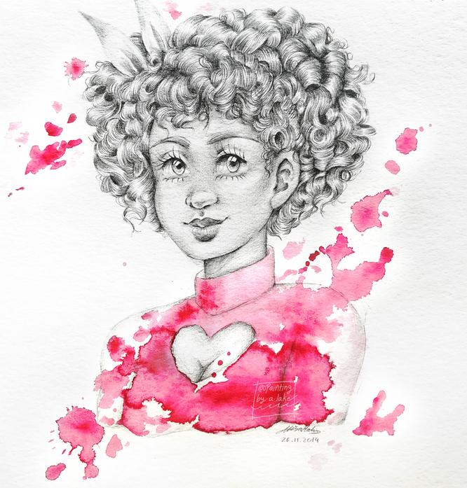 Mindy portrait