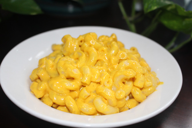 "Vegan Mac and ""Cheese"""