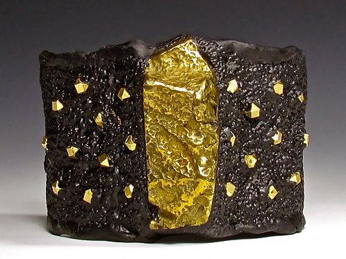 Gold Nuggets Cuff