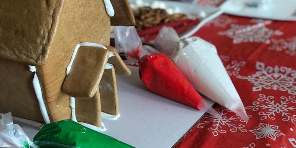 12/01/19-Gingerbread House Workshop- 12pm - 2pm