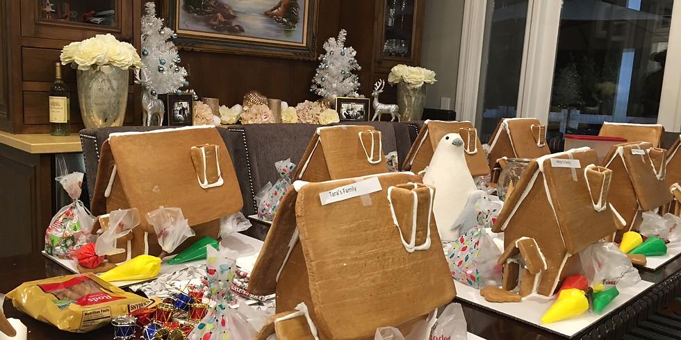 12/22/19- Gingerbread House Workshop- 12pm - 2pm