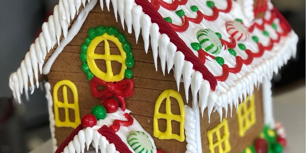 11/29/19-Gingerbread House Workshop- 4PM- 6PM