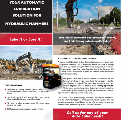 AUTO LUBE HAMMER SYSTEMS