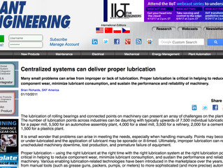 Centralized Systems Deliver Proper Lubrication