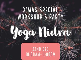 【Workshop】 Yoga Nidra | 願いを叶えるヨーガニードラ ワークショプ