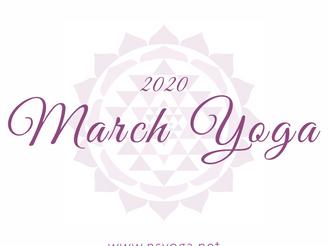 【Class】March 2020 Schedule | Delhi & Gurgaon