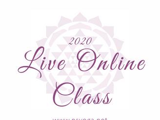 《オンラインLiveクラス》4月クラス開講!クラスが増えました!