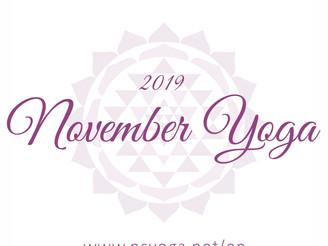 【Class】Nov 2018 Schedule   Delhi & Gurgaon