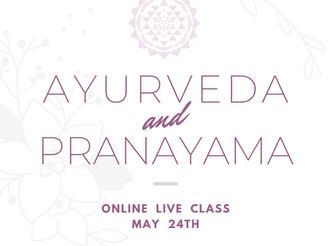 【Workshop】《オンラインLiveクラス》アーユルヴェーダに基づく6種類の呼吸法で3つの体質を整える