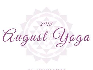 【Class】August 2018 Schedule | Delhi & Gurgaon