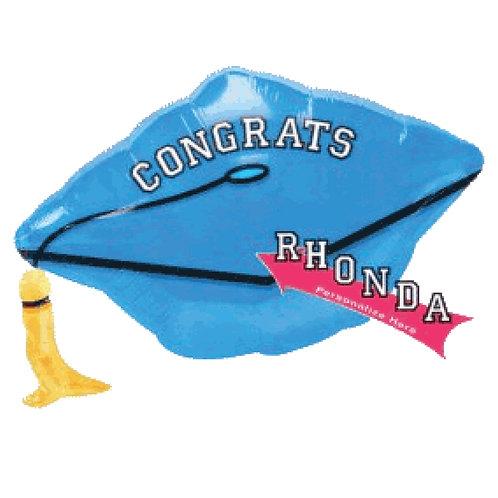 "Personalized Graduation Balloon 18"""